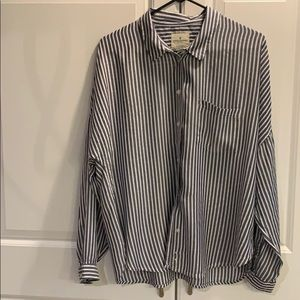 AE striped blouse SZ XL